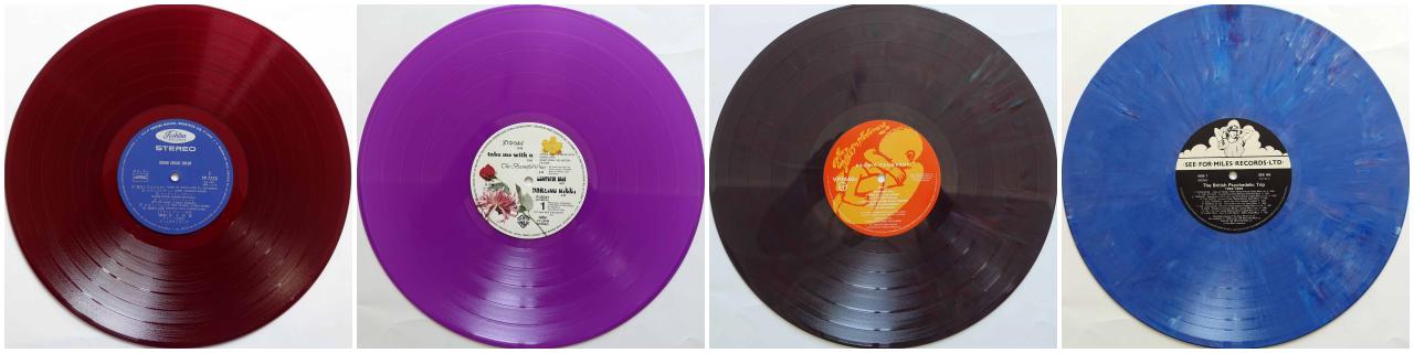 昔のカラー・レコード