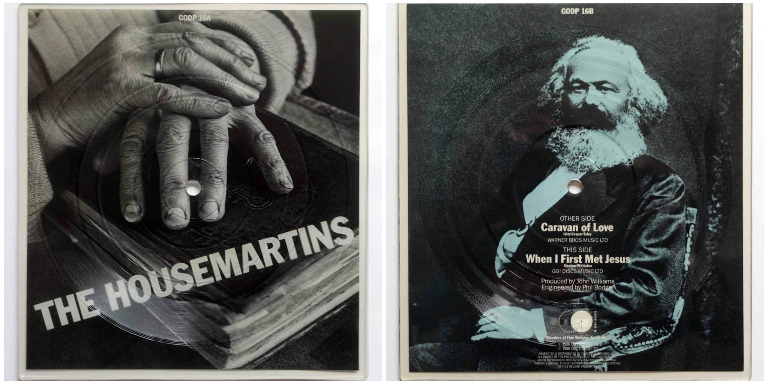 ハウスマーティンズの変形ピクチャー・レコード